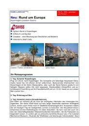 Rund um Europa - Reisebüro Mittelthurgau Fluss- und Kreuzfahrten ...