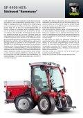 SP 4400 HST - KLG Maschinen für Kommunen, Land- und ... - Page 2