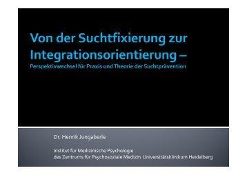 Dr. Henrik Jungaberle - Mentor Stiftung Deutschland