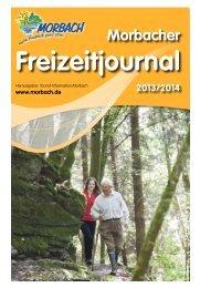 Morbacher Freizeitjournal - Gemeinde Morbach