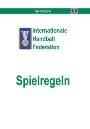 Spielregeln IHF - HC Turbenthal