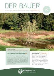 Natura 2000 = ENTEIGNUNG > 4 - Bauernbund