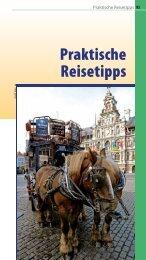 Praktische Reisetipps Antwerpen Brügge Gent ... - Reise Know-How