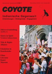 Indianische Gegenwart - Aktionsgruppe Indianer und ...