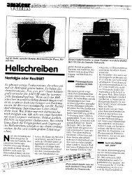 Hellschreiben - Nonstop Systems