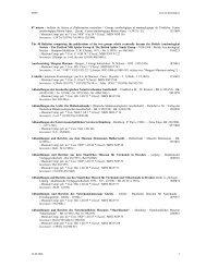 07 nature : bulletin de liaison et d'information ... - Ville de Genève