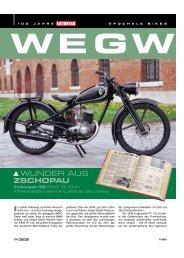 WUNDER AUS ZSCHOPAU - Motorrad online