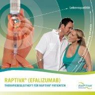 DAPTIVA® (EFALIZUMAB) - Mehr wissen - besser leben