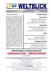 IPS-WELTBLICK Jg. 24 - Nr. 11 - IPS - WELTBLICK Online - IPS ...