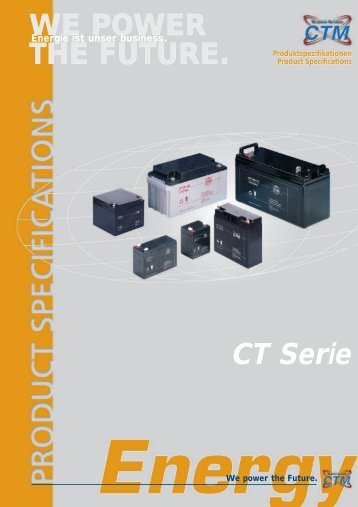 CT Serie - Akkutronik