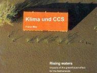 Klima und CCS - Innovationsnetzwerk Region Hildesheim