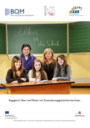 Broschüre Eltern in die Schule - ASM