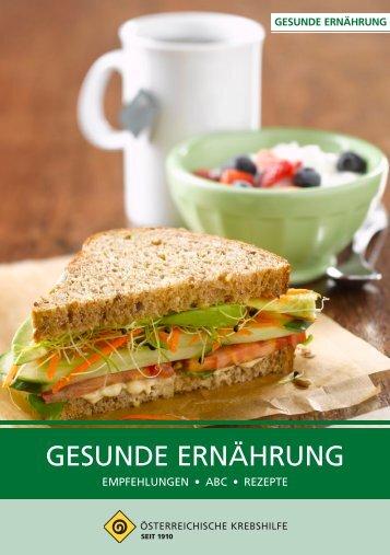 Download Broschüre Gesunde Ernährung (pdf, 2847232 bytes)