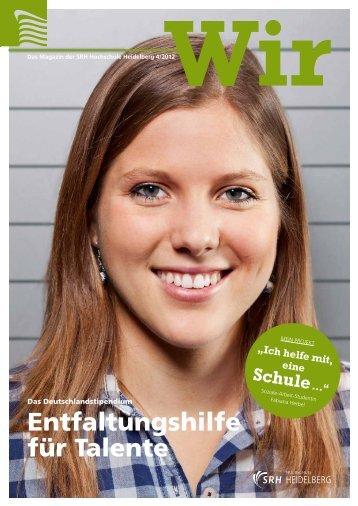 Ausgabe 4/2012 - SRH Hochschule Heidelberg