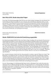 Artikel lesen (pdf) - Culturplan Unternehmensberatung AG