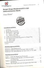 Burger Kings Wiedereintritt in den österreichischen Markt