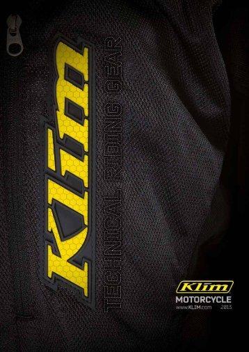 KLIM Katalog Motorcycle 2013
