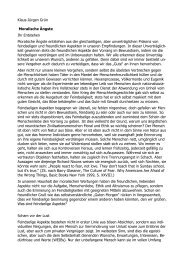 Klaus-Jürgen Grün Moralische Ängste Ihr Entstehen ... - PhilKoll.de