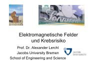 Elektromagnetische Felder und Krebsrisiko - fiete-foehr.de