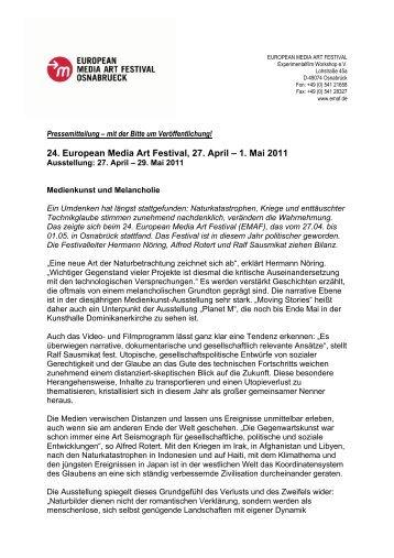 Download Pressemitteilung 06-2011 als PDF - EMAF