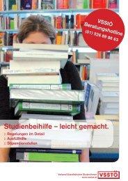 Studienbeihilfe – leicht gemacht. - VSStÖ
