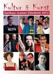 Kultur & Kunst - Gasthaus zum Lamm Ettenheim
