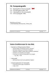Folien 21 - Ludwig-Maximilians-Universität München