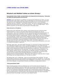 Wiesloch und Walldorf ziehen an einem Strang I - Frauenliste ...