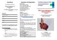 Kursprogramm TEE Teil 2 - Anästhesiologische Klinik ...