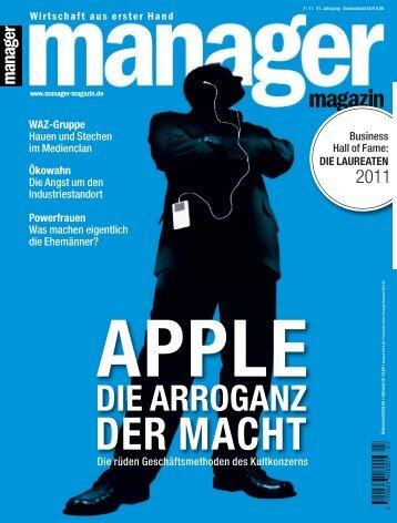 Manager Magazin Nr. 07/2011 - Die Onleihe