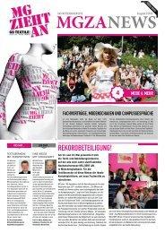 Messezeitung 2 (während der Messe) - MG ZIEHT AN