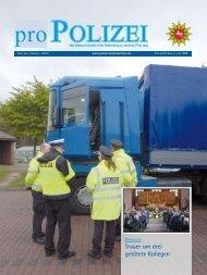 proPOLIZEI, Juli/August 2010 - Niedersächsisches Ministerium für ...