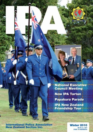 Winter 2010 issue - International Police Association | New Zealand ...