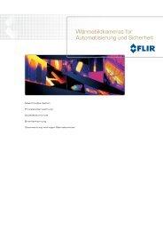Wärmebildkameras für Automatisierung und Sicherheit - FLIR Systems