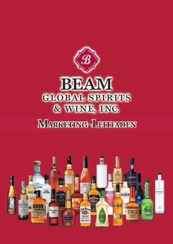 MARKETING- LEITFADEN - Beam Inc.