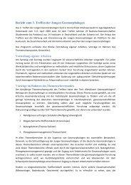 Bericht zum 3 - Deutscher Arbeitskreis für Geomorphologie