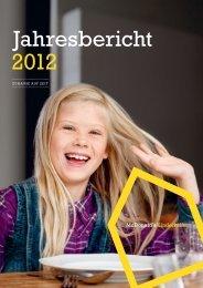 Jahresbericht 2012 - McDonald's Kinderhilfe