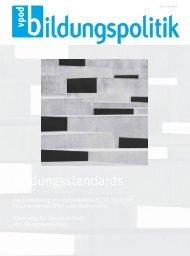 Bildungsstandards - vpod-bildungspolitik