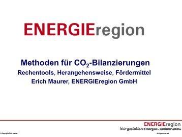 03 - Erich Maurer: Methoden für CO2-Bilanzierungen, Rechentools ...