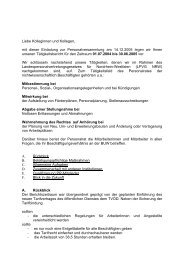 Tätigkeitsbericht: 01.07.2004 - Personalrat