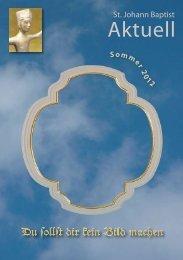 Sommer 2012 (PDF 2,15 MB) - St. Johann Baptist