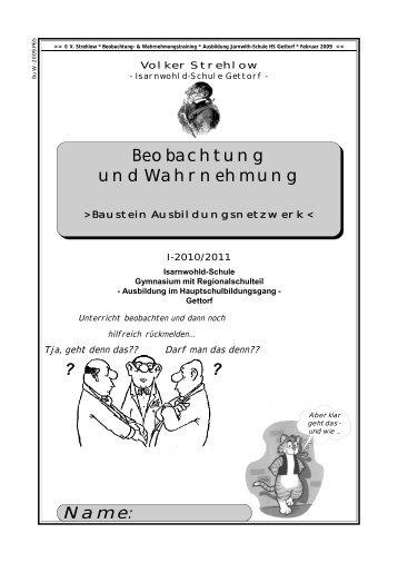 Skript - Isarnwohld-Schule