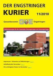 11/10 - Engstringer Kuriers