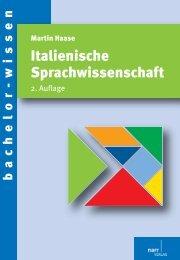 Italienische Sprachwissenschaft - Die Onleihe