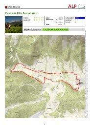 Wanderung Panorama Allee Ramsau West - Ramsau am Dachstein