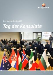 Tag der Konsulate - E-world energy & water