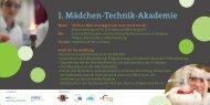 1. Mädchen-Technik-Akademie - mst femNet