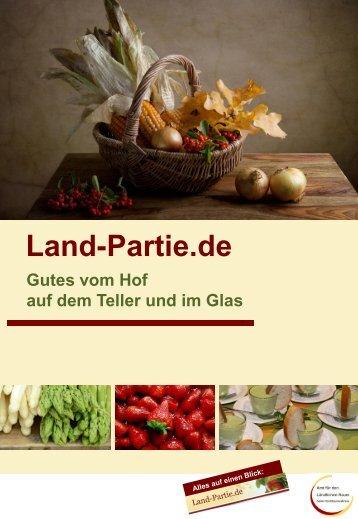 Broschüre - Land-Partie