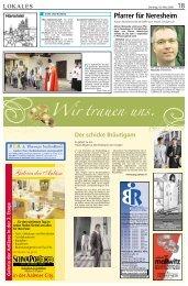 Pfarrer für Neresheim - Schwäbische Post