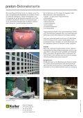 Produkte-Übersicht preton-Vorfabrikation - Keller Ziegeleien AG - Page 4